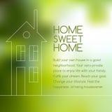 House line graphic Stock Photo