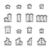 House line icon Royalty Free Stock Photo