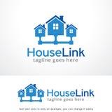 House Link Logo Template Design Vector, Emblem, Design Concept, Creative Symbol, Icon Royalty Free Stock Image