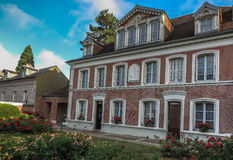 House in Lisieux, where she lived St. Therese of the Child Jesu Stock Photo