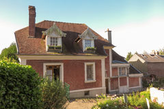 House in Lisieux, where she lived St. Therese of the Child Jesu Royalty Free Stock Photography