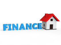 House loan and finance Stock Photography