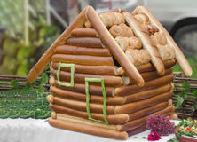 House of the loaves and rolls Royalty Free Stock Photography
