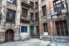 House in lodz poland Stock Photography