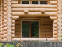 House log wall Stock Photography