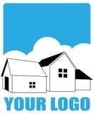 House logo. Design - vector illustration Stock Photography