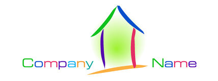 House logo Royalty Free Stock Photography