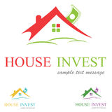 House Logo. Concept,symbol illustration Royalty Free Stock Photos