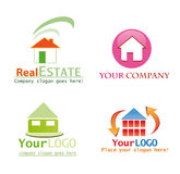 House logo design Stock Photos