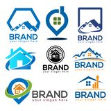 House Logo Design Vector, house icons set. EPS file available. see more images related vector illustration