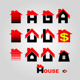 House logo Stock Photography