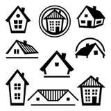 House logo templates. Set of real estate design Stock Photo