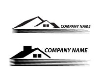 House logo  very detailed and expressive Real Esta Stock Photos