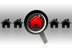House looking for - concept Royalty Free Stock Photo