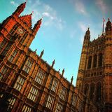 House of Lords Royalty Free Stock Photography