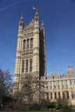 House of the lords tower Royalty Free Stock Photos