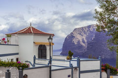 House by los gigantes Royalty Free Stock Photo