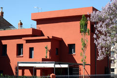 House of Louis Bausil in Perpignan Royalty Free Stock Photography