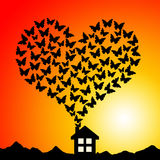 House of love Stock Images
