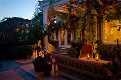 house luxurious patio στοκ φωτογραφίες με δικαίωμα ελεύθερης χρήσης