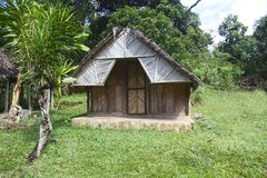 House in Madagascar Royalty Free Stock Images