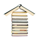 House made of books Royalty Free Stock Photos