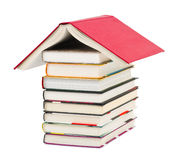 House made of books Royalty Free Stock Images