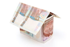 House made of HK dollars Stock Images