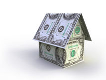 A house made of money Royalty Free Stock Image