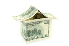 House made of money Royalty Free Stock Image