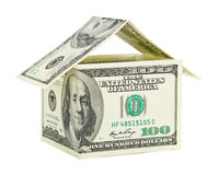 House made of money Stock Photo