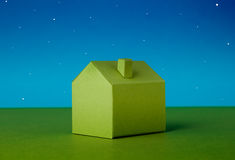 House made of paper Stock Image