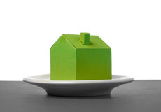 House made of paper Royalty Free Stock Photos