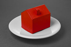 House made of paper Royalty Free Stock Images