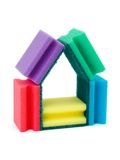 House made of sponges Royalty Free Stock Images