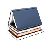 House Made With Books Stock Photography