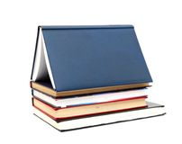 House Made With Books Royalty Free Stock Images