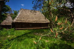 House made of wood Royalty Free Stock Photography
