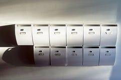 House mailboxes Stock Photos