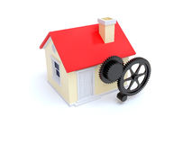 House maintenance Royalty Free Stock Images