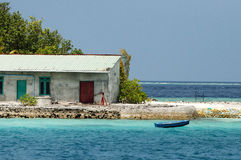 House - Maldives Stock Images