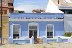 House on Malvarossa Beach. Valencia. Spain Royalty Free Stock Image