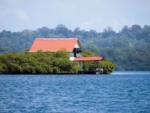 House in mangrove Royalty Free Stock Images
