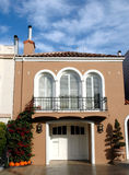 House in Marina district, San Francisco.  Royalty Free Stock Image