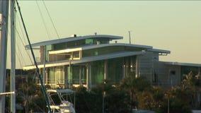 House Marina stock footage