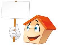 House mascot Royalty Free Stock Photos