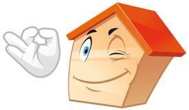 House mascot Stock Image