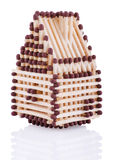 House from matches Stock Photo