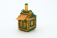 House of matches stock illustration