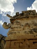 House maya. A house maya in mexico Royalty Free Stock Image